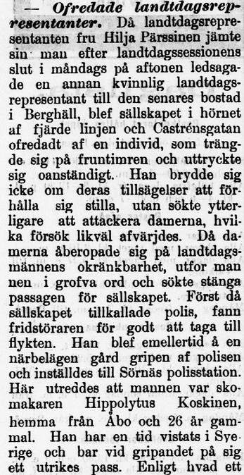 Östra Nyland 15 aug 1908