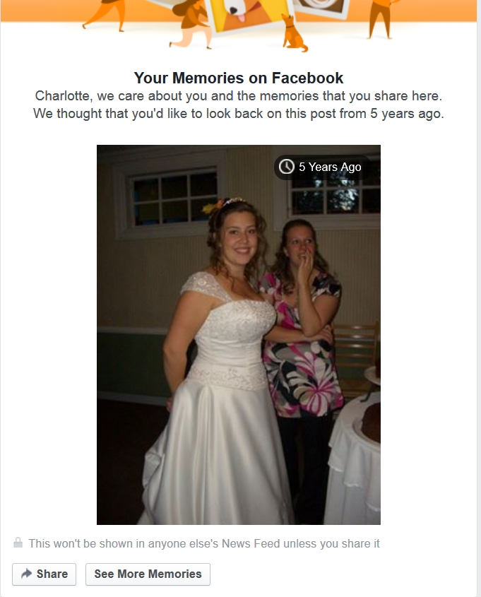 fb wedding